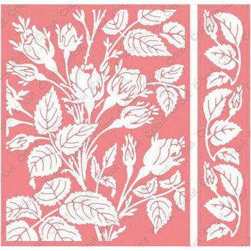 Cuttlebug Anna Griffin Mayfair Floral Embossing Folder and Border Set