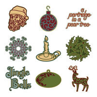 PROVO CRAFT Cricut Mini Seasonal Shape Cartridge - Holly And Ivy