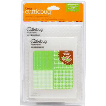 Provo Craft Cuttlebug Emboss Fabric Swatches Set