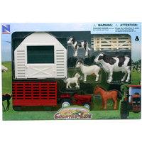Country Life Farm Animal and Barn Set