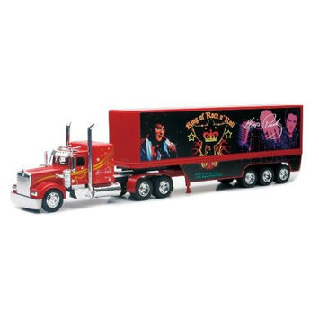 Newray Toys Kenworth Elvis Presley Truck - The Blue Suede.1:32 Scale