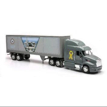 Newray Toys Perterbilt 387 Navy theme Toy Truck