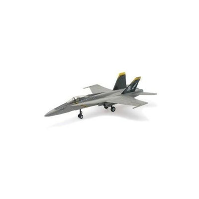 F-18 Gray Hornet Model Kit Skull and Crossbones Logo Kids Hobby 1:48 Scale NRYS1445 NewRay Toys