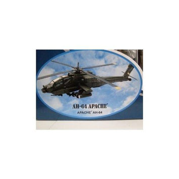 Boeing AH-64 Apache Diecast Military Helicopter 1:55 Scale - Model Kit NRYS5525 NEW RAY