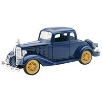 1933 Chevrolet Two Passenger 5 Window Coupe 1:32 Scale by Newray NRYV5163 New Ray