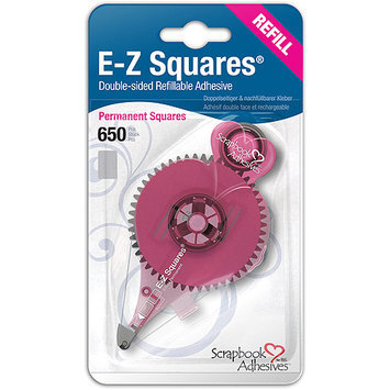 3l EZ Squares Refill 650/Pkg-Permanent