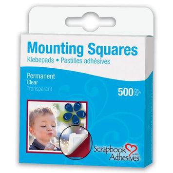 3l/helmar 3L Corp 1602 Permanent Half-Size Mounting Squares 500/Pkg