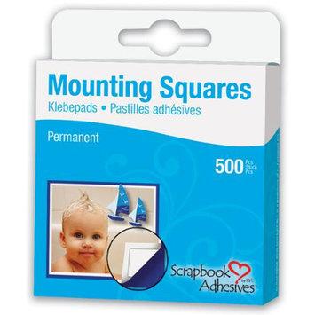 3l/helmar 3L Corp 1604 Permanent Mounting Squares 500/Pkg