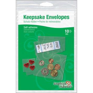 3L Corp 1662-6 Keepsake Envelopes 10/Pkg