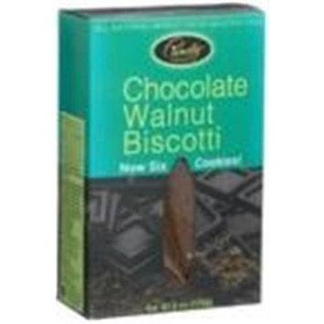Pamela's Products - Biscotti Gluten Free Chocolate Walnut - 6 Pack