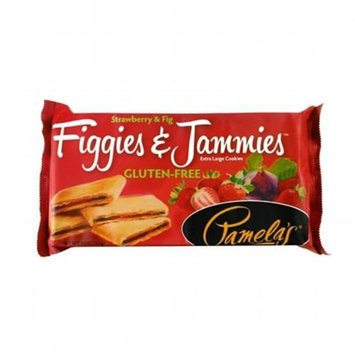 Pamela's Products Figgies & Jammies Extra Large Cookies Gluten Free Strawberry & Fig - 9 oz