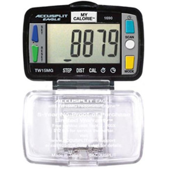 Accusplit AE1690-XBX Super Thin Multi-Function Pedometer Packed in UNIT BOX