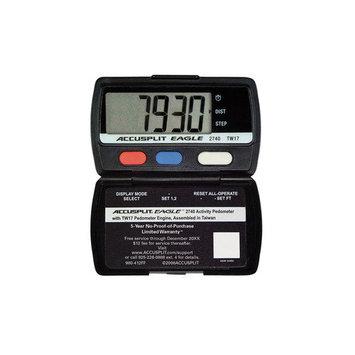 Accusplit Ultra Thin Step Polycarbonate Plastics Pedometer