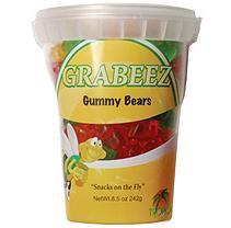 GRABEEZ Gummy Bears (7.5 oz. cups, 12 ct.)