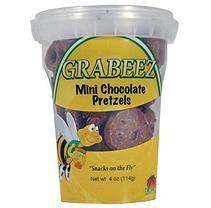 GRABEEZ Mini Chocolate Pretzels (12 ct.)