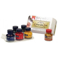 Winsor & Newton 1190192 Calligraphy Ink Introduction Set