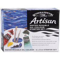 Reeves Winton Artisan Water Mixable Oil Paint Starter Set