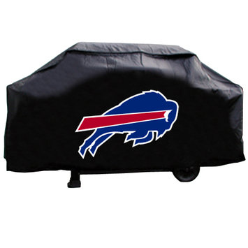 Caseys Buffalo Bills Deluxe Grill Cover Rico Industries-Tag Express