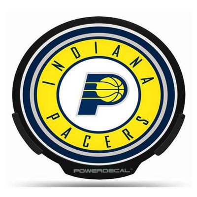 Rico Industries RIC-PWR87001 Indiana Pacers NBA Power Decal