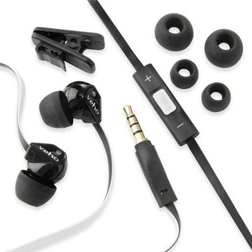 Veho VEP-004-Z2BW 360 Z2 Noise Isolating Stereo Earbuds - 18-20000 Hz - Black, White