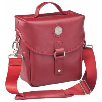 Jill-e Day Camera Bag, Red Leather