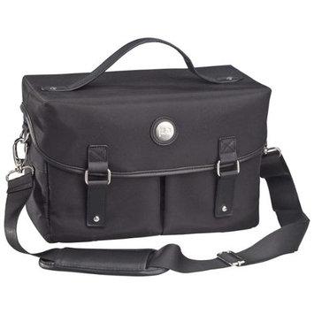 Jill-e Basic DSLR Bag, Black Microfiber