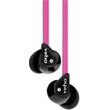 Veho Uk Veho 360 Z-1 Earbuds - Pink - Stereo - Pink - Mini-phone - Wired - 16 Ohm - 10 Hz 25 Khz - Nickel Plated - Earbud - Binaural - In-ear - 4.10 Ft Cable (vep003360z1p)