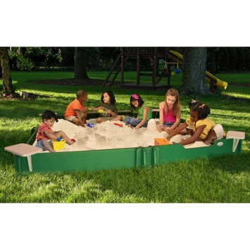 Sandlock 10 by 10 Ft Sandbox with Cover