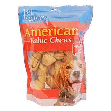 Pet Factory 28171 American Value Chews Chicken Flavored Bones 4-5 8 Pack PF28171