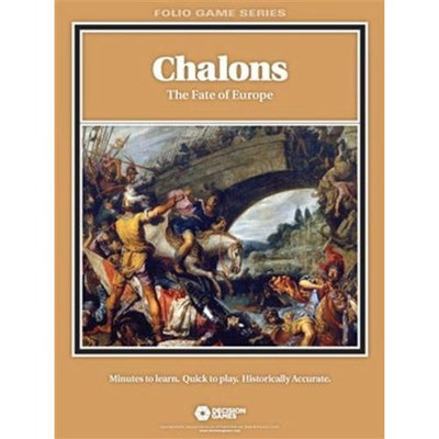 Decision Games Chalons: The Fate of Europe