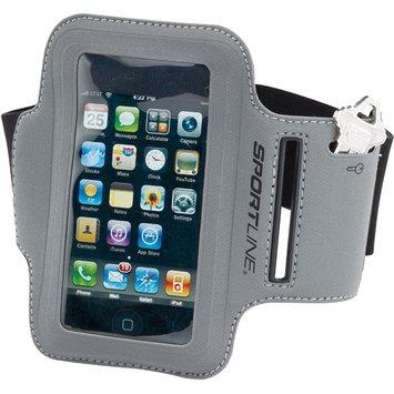 Sportline - 860 Reflective Sport Armband Designed For iPods Black
