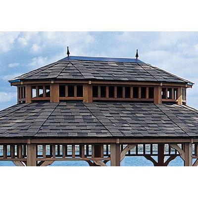 Heartland 2-Tier Roof for 12ft x 16ft Oval Gazebo 195655