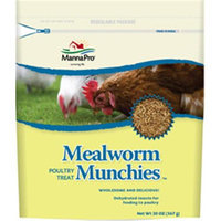 Manna Pro Mealworm Munchies Poultry Treat 20 Oz.