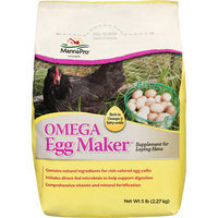 Manna Pro Omega Egg Maker Supplement For Laying Hens