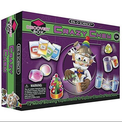 Tedco Toys 32043 Crazy Chem Large Science Kit