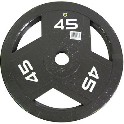 Impex Inc. Marcy Classic ECO Olympic Grip Plate - 45 lbs.
