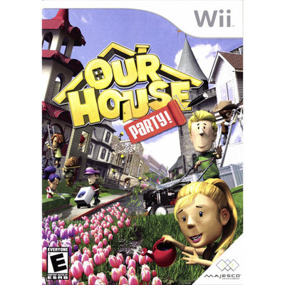 Our House: Party! Wii Game MAJESCO