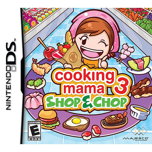 Majesco Sales, Inc. Cooking Mama 3: Shop & Chop Nintendo DS Game MAJESCO