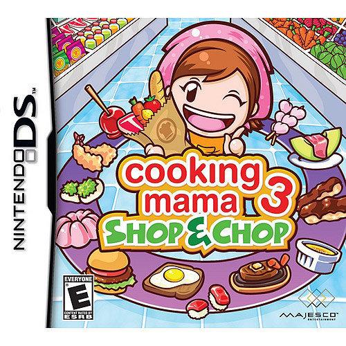 Majesco Sales, Inc. Cooking Mama 3: Shop & Chop Nintendo DS Game MAJESCO