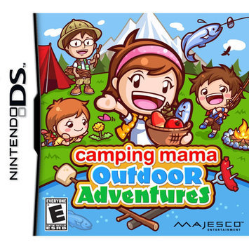 Majesco Games 01725 Camping Mama Ds