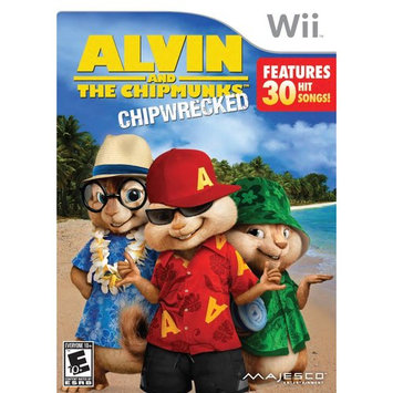 Majesco Sales, Inc. Majesco Games 01751 Alvin And The Chipmunks Wii