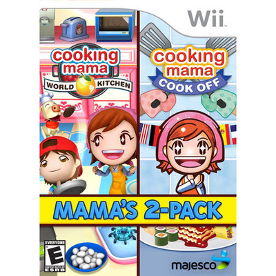 Majesco Games 01798 Cooking Mama 2 Pack Wii