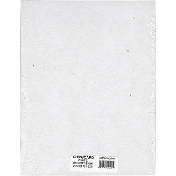 Grafix Medium Weight Chipboard Sheets, 8.5