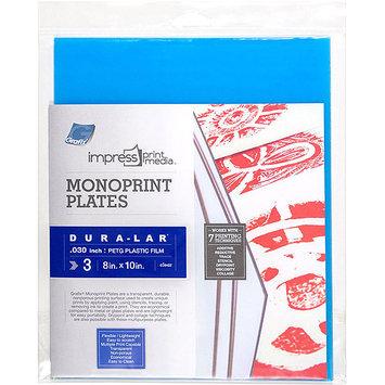 Grafix Impress Monoprint Plates 3/Pkg-8