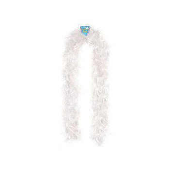 Rhode Island Novelty White Feather Boa
