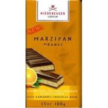 Niederegger Marzipan Bar Marzipan Orange 3.5 OZ -Pack Of 12