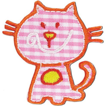 Blumenthal Lansing Iron-On Appliques-Pink Cat