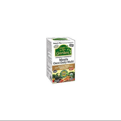 Nature's Plus Source of Life Garden Men's Once Daily Multi 30 Vegan Tablets