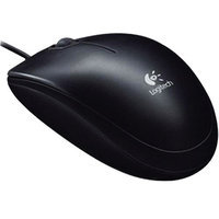 Logitech B100 USB Optical Combo Mouse -Black