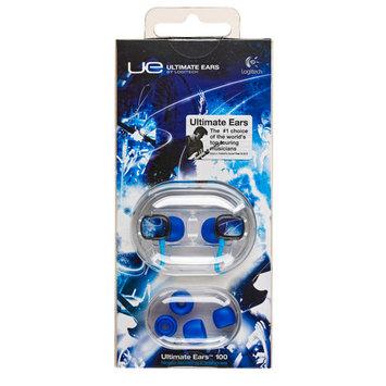 Logitech Ultimate Ears 100 Noise-Isolating Earphones, Neon Lights Yellow/Blue